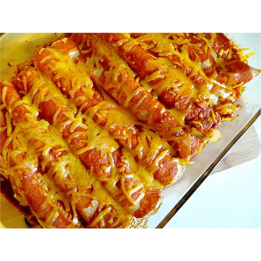 Cheesy Chicken Enchiladas