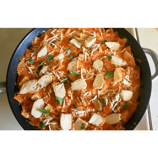 Cheesy Chicken Skillet Lasagna