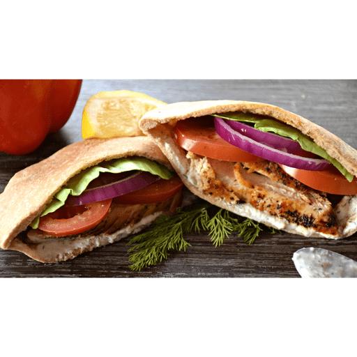 Easy Chicken Gyros with Tzatziki Sauce