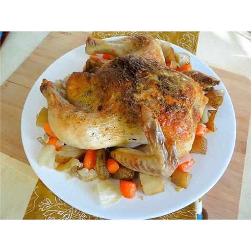 Easy Weeknight Roast Chicken
