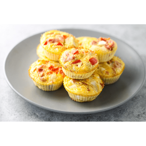 Egg Muffins with Ham & Bell Pepper