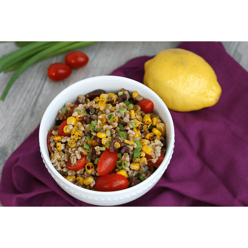 Farro Salad with Roasted Corn and Tomatoes