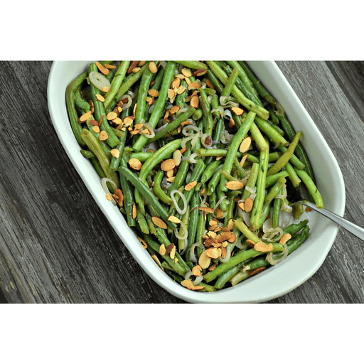 Green Beans with Shallots, Almonds and Tarragon