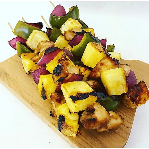 Teriyaki Chicken Kebabs