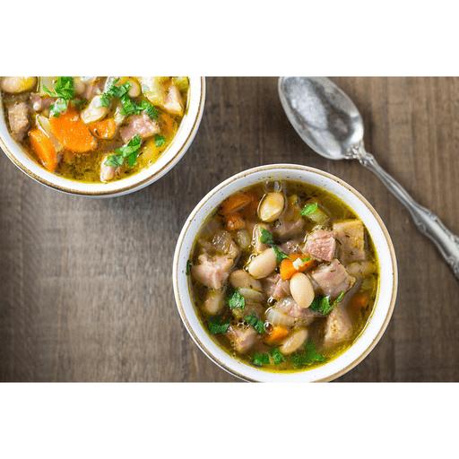 Leftover Ham & Bean Soup