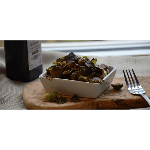 Maple Balsamic Brussels Sprouts with Bacon