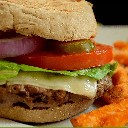 Mushroom & Swiss Blend Burger