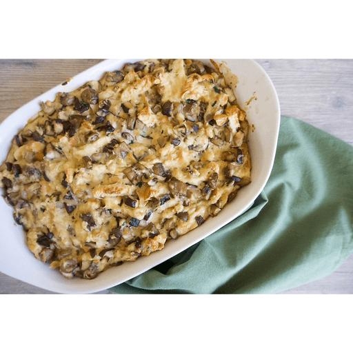 Mushroom Stuffing with Parmesan