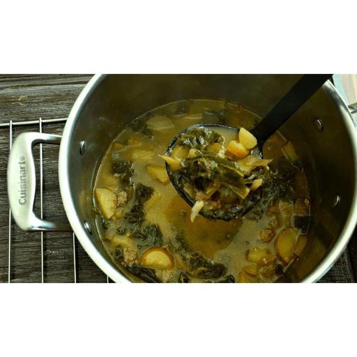 Potato and Kale Soup with Italian Sausage