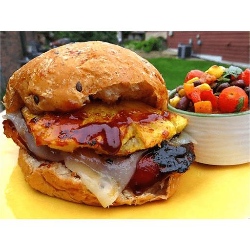Hawaiian Grilled Chicken Sandwich