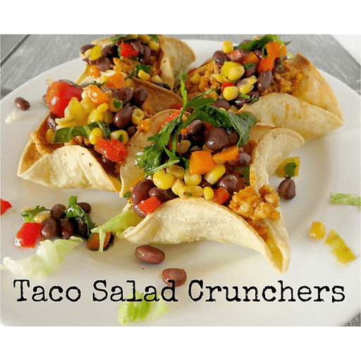 Taco Salad Crunchers