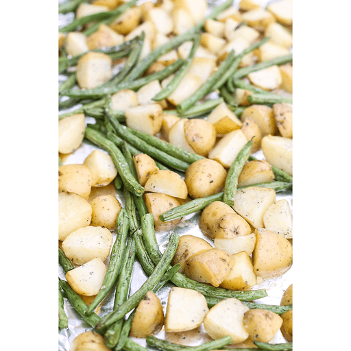 Roasted Green Beans & Potatoes
