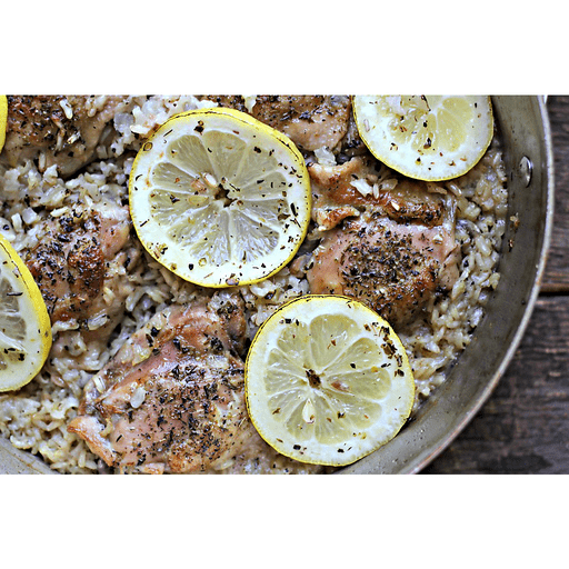 Skillet Lemon Chicken with Rice
