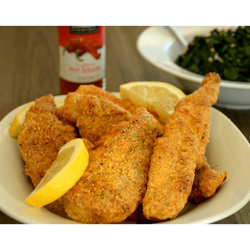 Spicy Oven-Fried Catfish