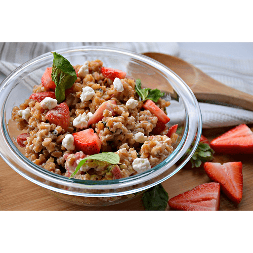 Strawberry & Goat Cheese Farro Salad