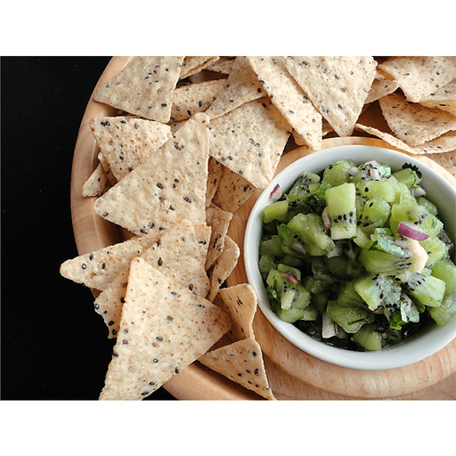 Sweet and Spicy Kiwi Salsa