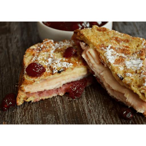 Turkey Monte Cristo Sandwich with Cranberries