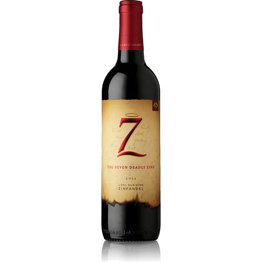 Seven Deadly Zins Zinfandel, Lodi Old Vine, 2015