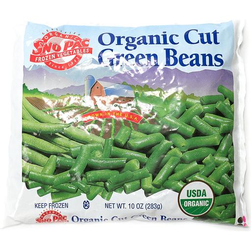 Sno Pac Organic Green Beans