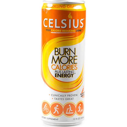 Celsius® Live Fit Sparkling Orange Dietary Supplement 12 fl. oz. Can