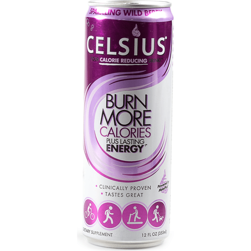 Celsius® Live Fit Sparkling Wild Berry Dietary Supplement 12 fl. oz. Can