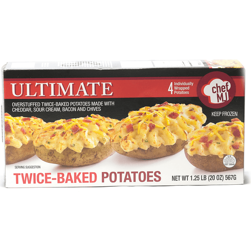 Chef Mj Ultimate Twice Baked Potatoes Potatoes Martin S Super Markets