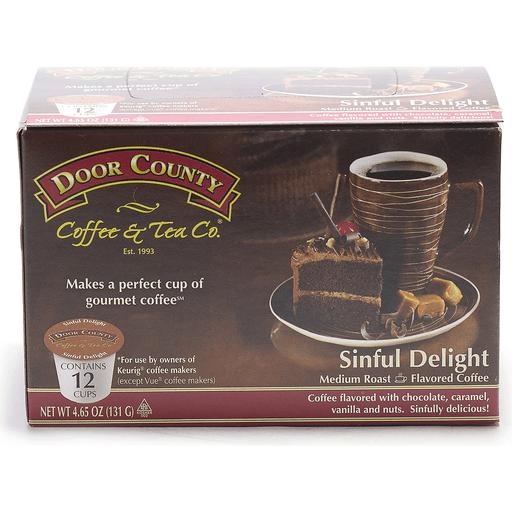 Door County Sinful Delight Coffee Single Serve Cups