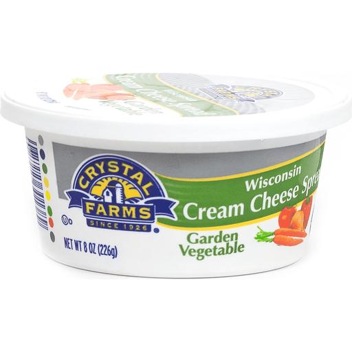 Crystal Farms Garden Vegetable Soft Cream Cheese