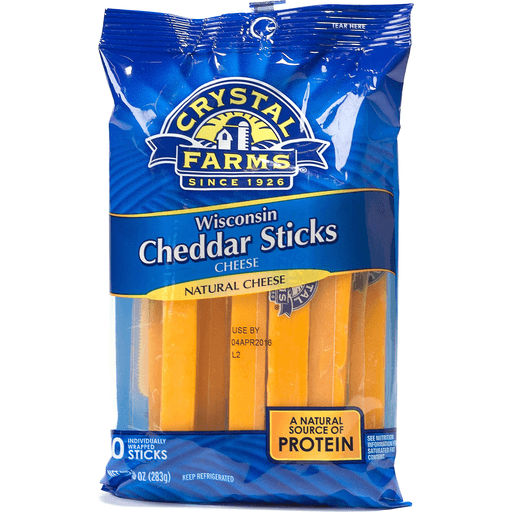 Crystal Farms Cheddar Sticks