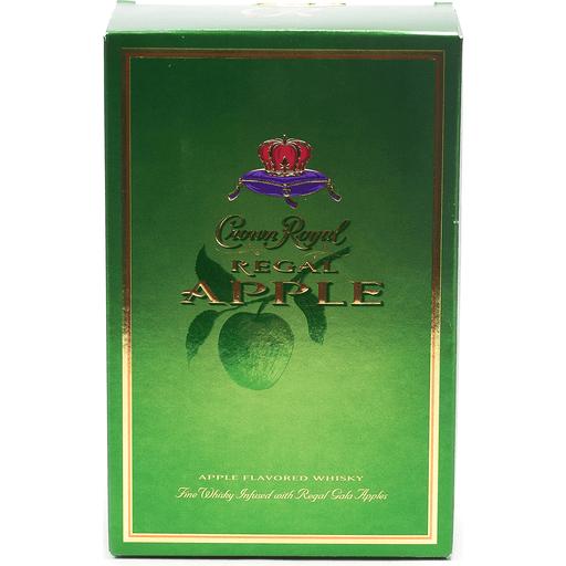 Crown Royal Whisky, Apple Flavored, Regal Apple