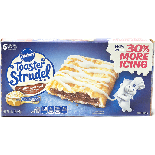Pillsbury Toaster Strudel Pastries, Cinnamon Roll with Brown Sugar