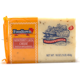 Foodtown Monterey Jack Cheese Chunk with Pepper | DAgostino