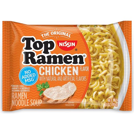 Top Ramen Chicken Ramen Noodles