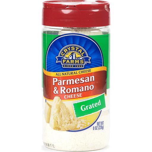 Crystal Farm Grated Parmesan Romano