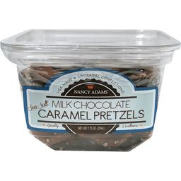 Nancy Adams Milk Chocolate Pretzels
