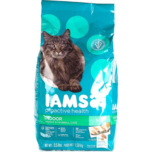 Iams ProActive Health Cat Nutrition, Premium, Indoor Weight & Hairball Care, 1+ Years