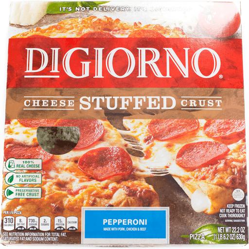 DiGiorno Pizza, Cheese Stuffed Crust, Pepperoni