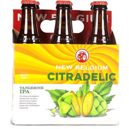 New Belgium IPA, Tangerine, Citradelic
