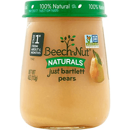 Beech-Nut Naturals Stage 1, Just Bartlett Pears