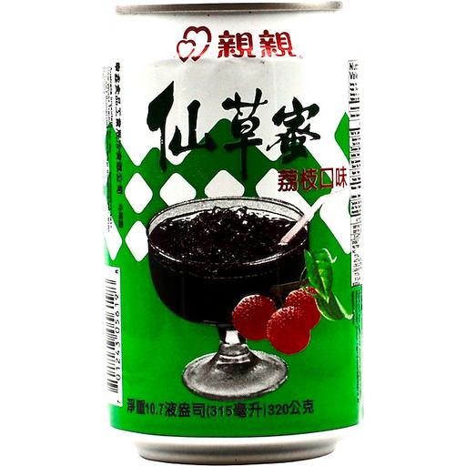 Chin Chin Grass Jelly Drink - Lychee