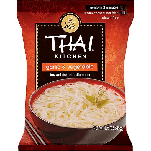 Thai Kitchen Garlic Veg Instant Noodles