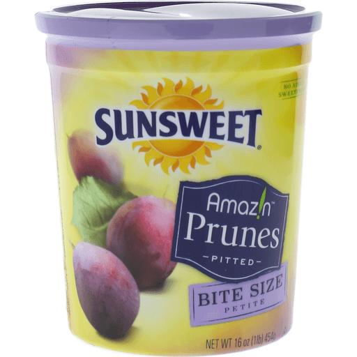 Sunsweet Amazin Prunes Pitted Bite Size Petite