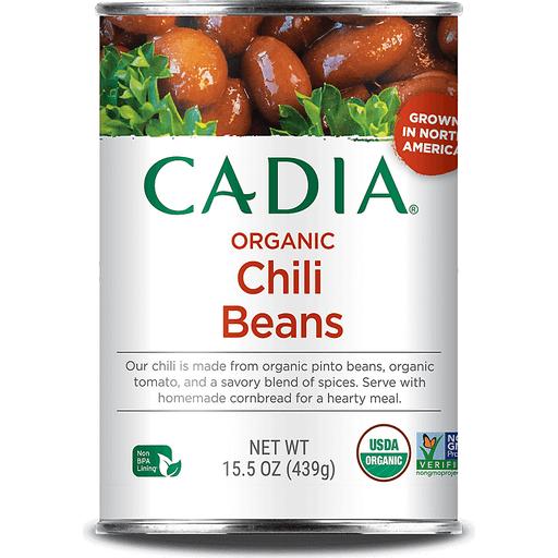Cadia Organic Chili Beans In Sauce