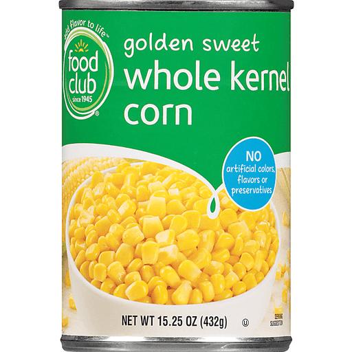 Food Club Whole Kernel Corn