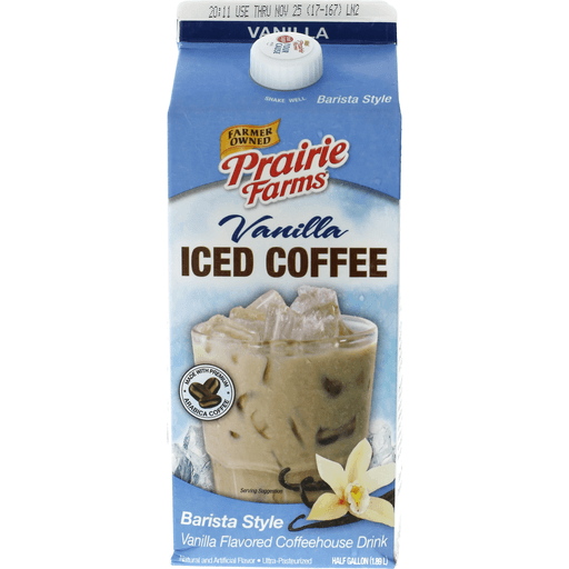 Prairie Farms Iced Coffee Van Milk Cream My Country Mart Kc Ad Group