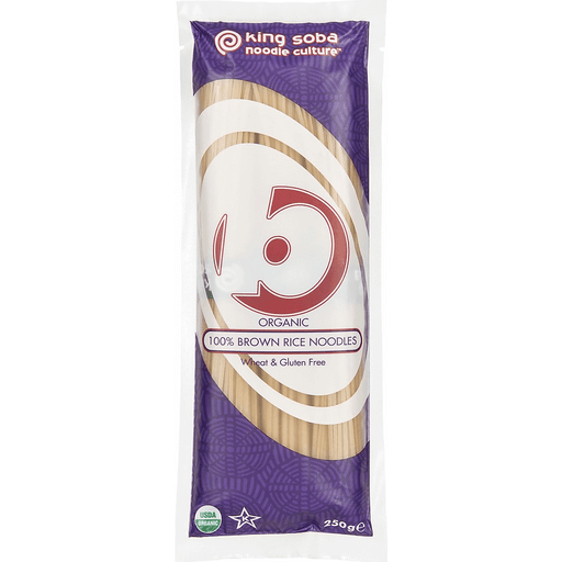 King Soba Org 100% Brown Rice Noodles