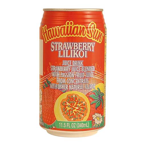 Hawaiian Sun Lilikoi Strawberry Drink