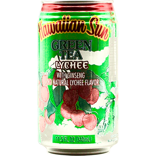 Hawaiian Sun Lychee Green Tea W/Ginseng