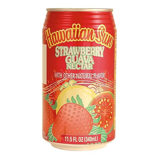 Hawaiian Sun Strawberry Guava Nectar