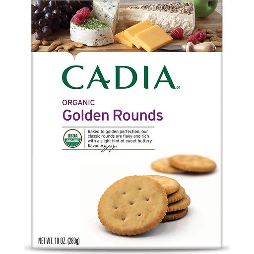 Cadia Golden Rounds Crackers